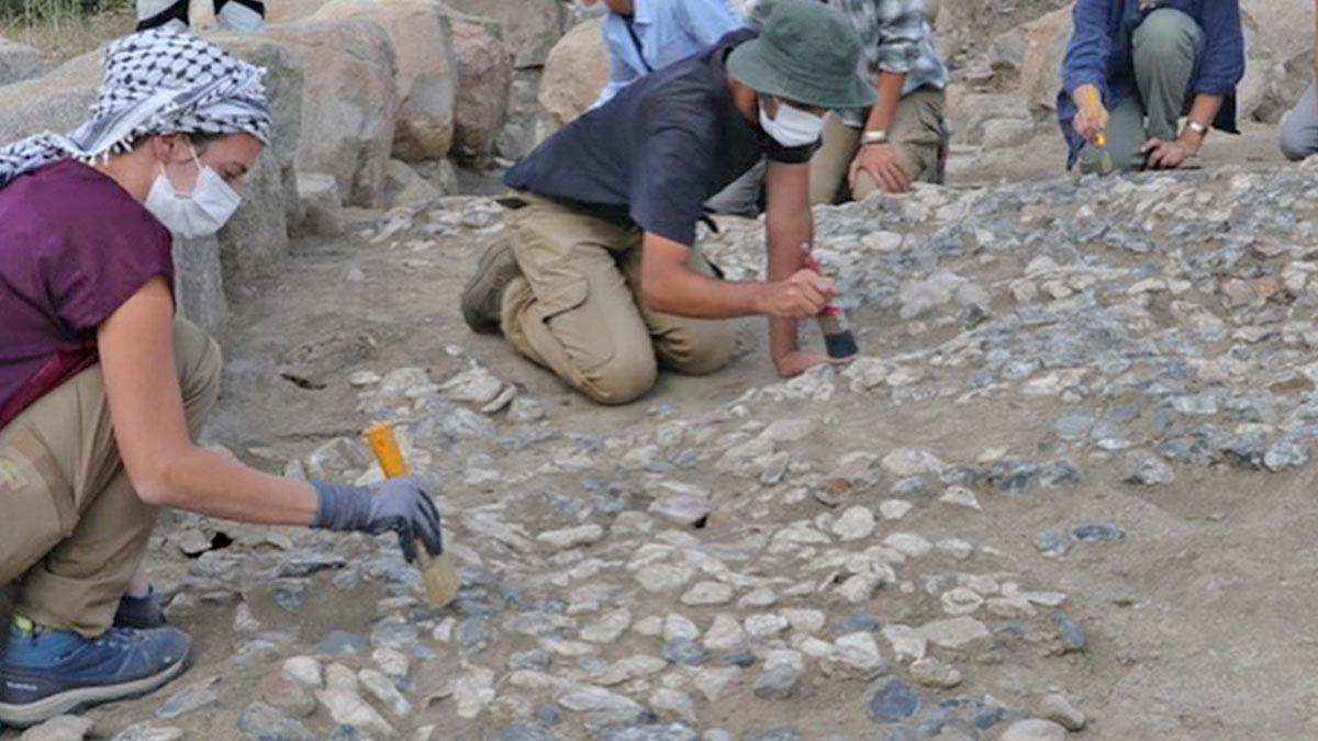 В Турции найдена одна из древнейших в мире мозаик