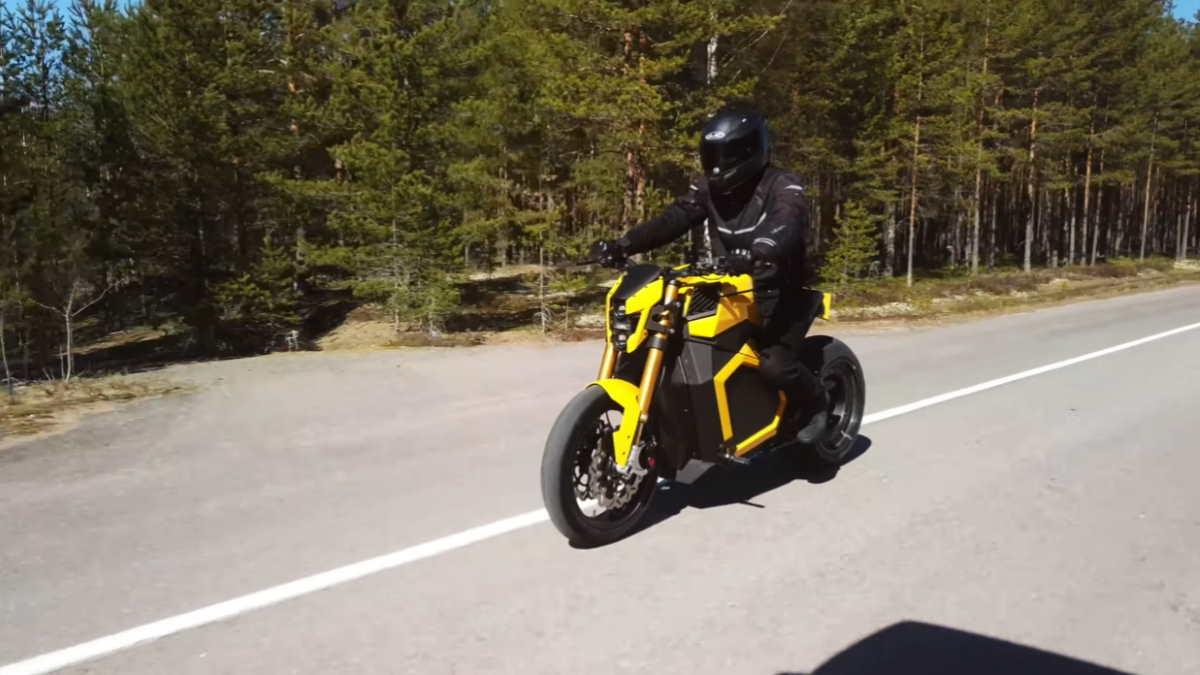 Мотоцикл Verge TS