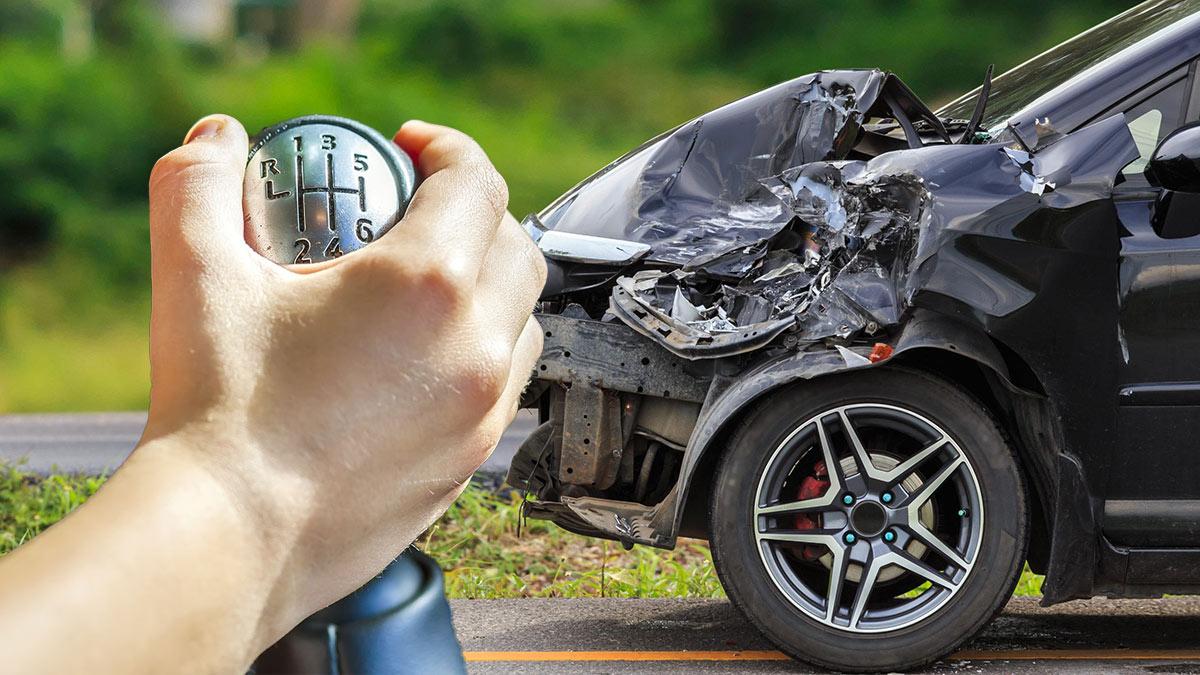 Вероятность аварии при езде на нейтральной передаче