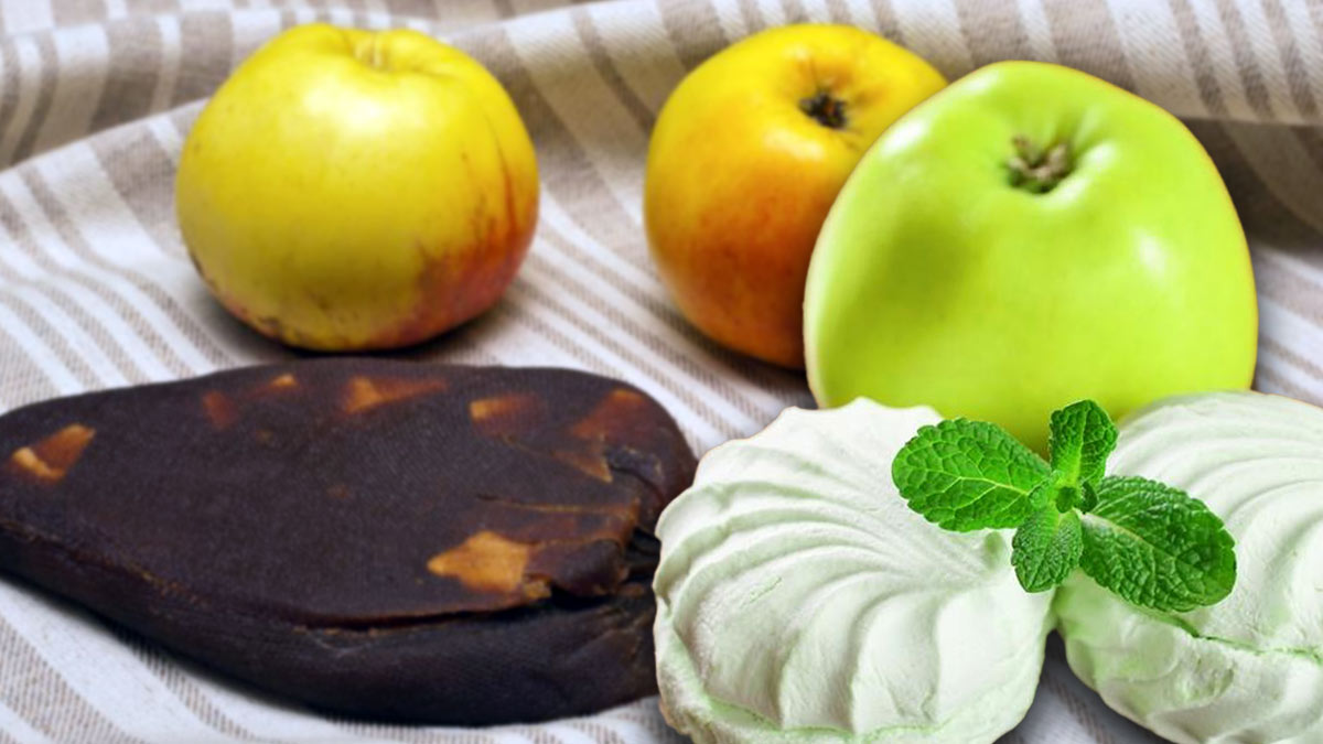 Рецепты из яблок