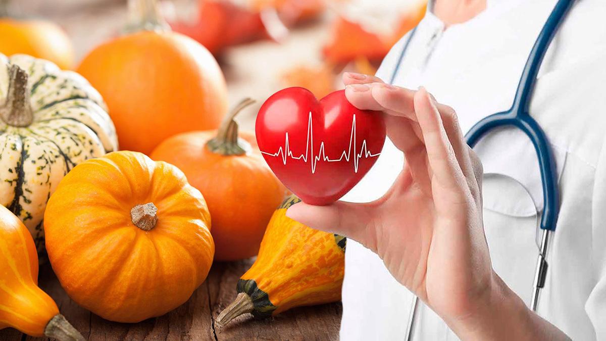 тыква здоровье сердце витамины