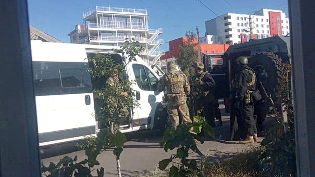 Лиски Воронежская область нападение отдел полиции