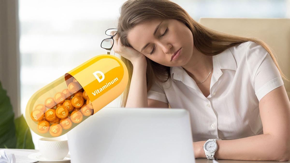 Связь между дневной сонливостью и витамином D