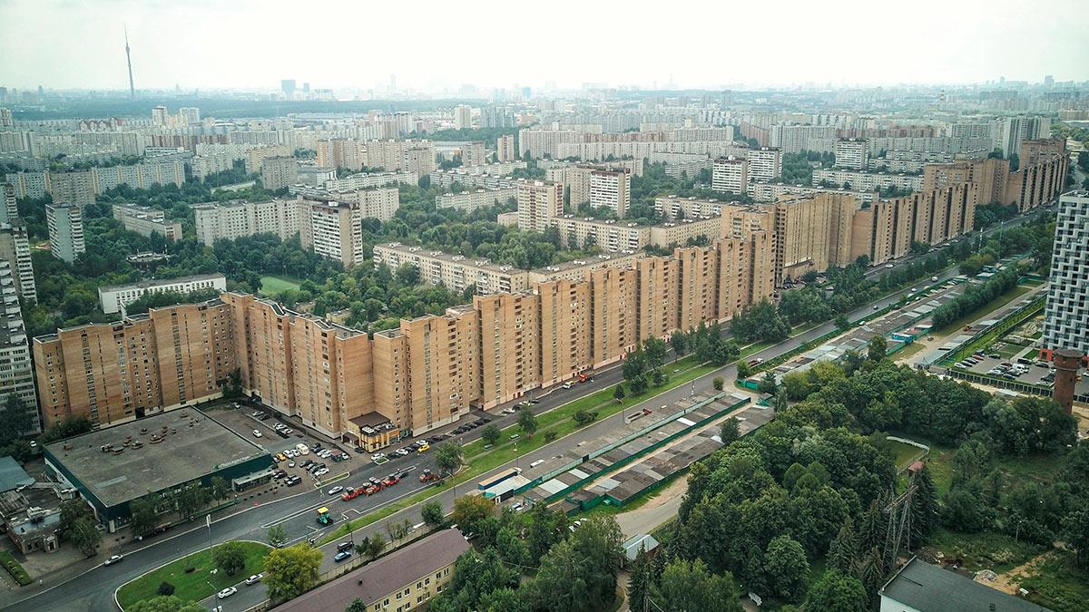 дома районы Москва вторичка