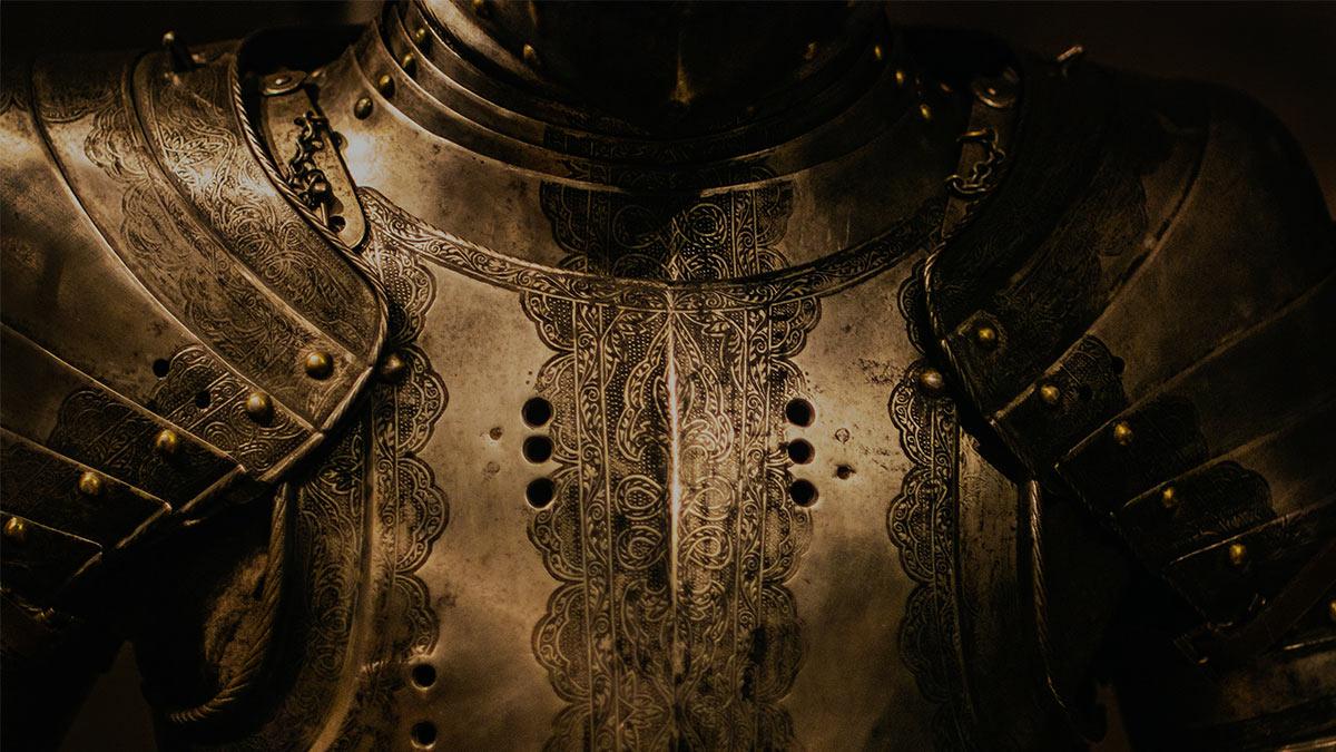 найдены доспехи воина крестовых походов