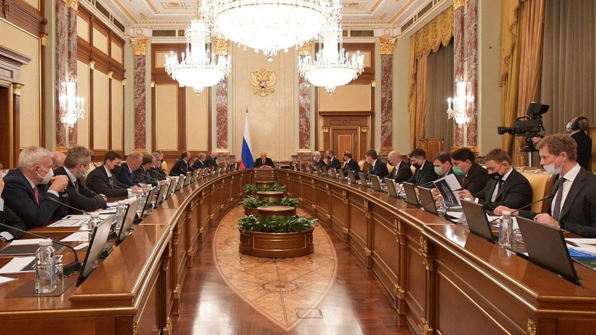 Встреча Михаила Мишустина с членами союза промышленников и предпринимателей
