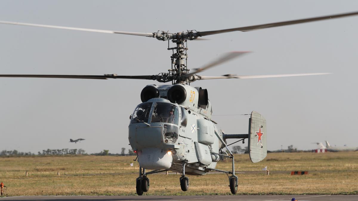 вертолет Камов Ка-27