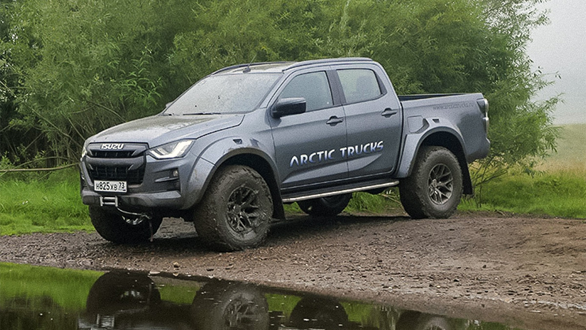 Isuzu D-Max AT35 Arctic Trucks