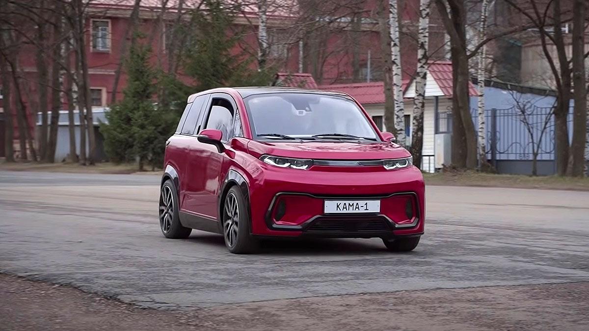 Первый российский электромобиль Кама-1