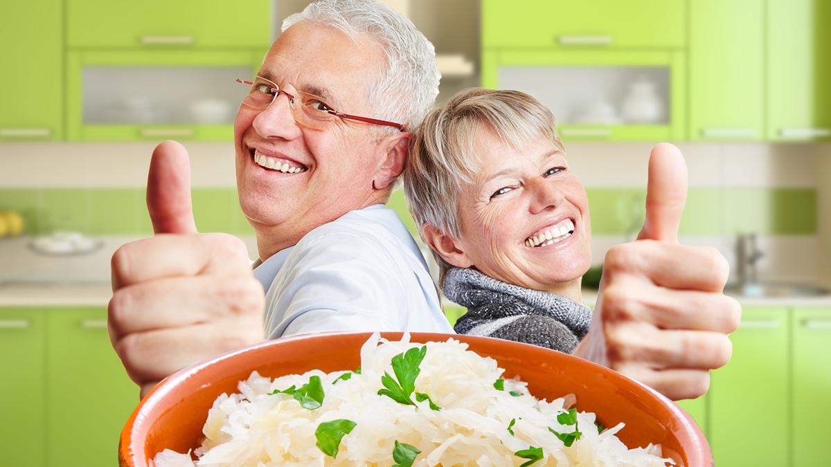 квашеная капуста польза витамины