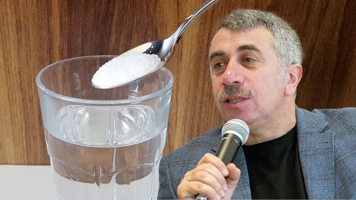 Доктор Комаровский о соляном растворе