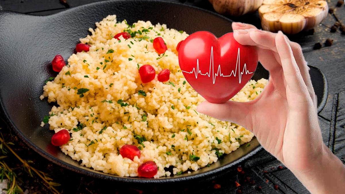 кускус рука сердце здоровье