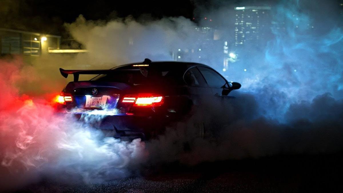 Нарушение тишины в ночное время на автомобиле