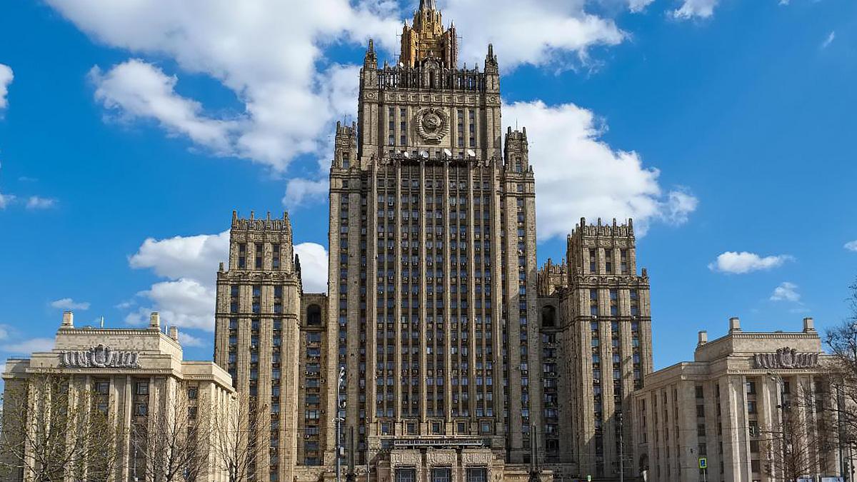 Здание нового департамента в МИД России