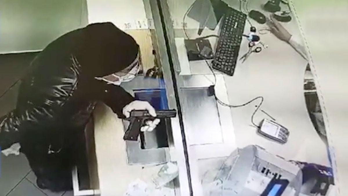 Кудрово ограбление банка