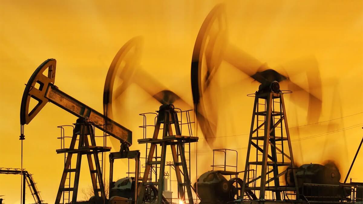 Добыча нефти вышки