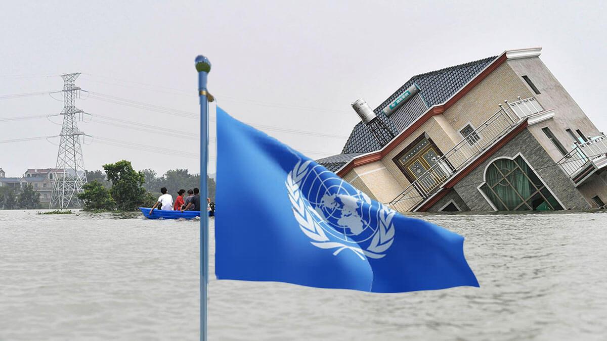 флаг оон наводнение