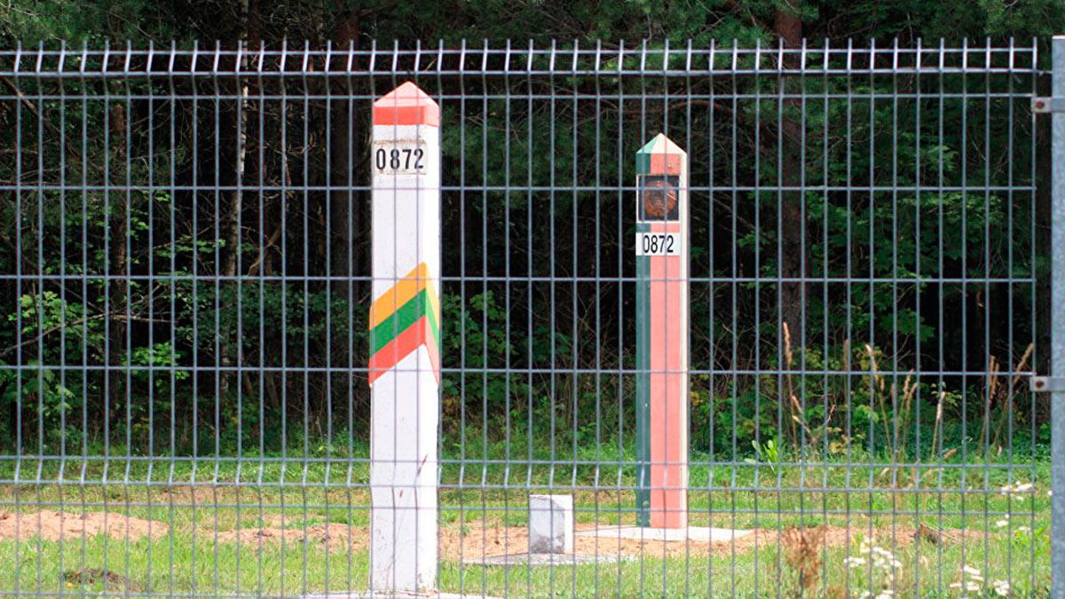 белорусская литовская граница