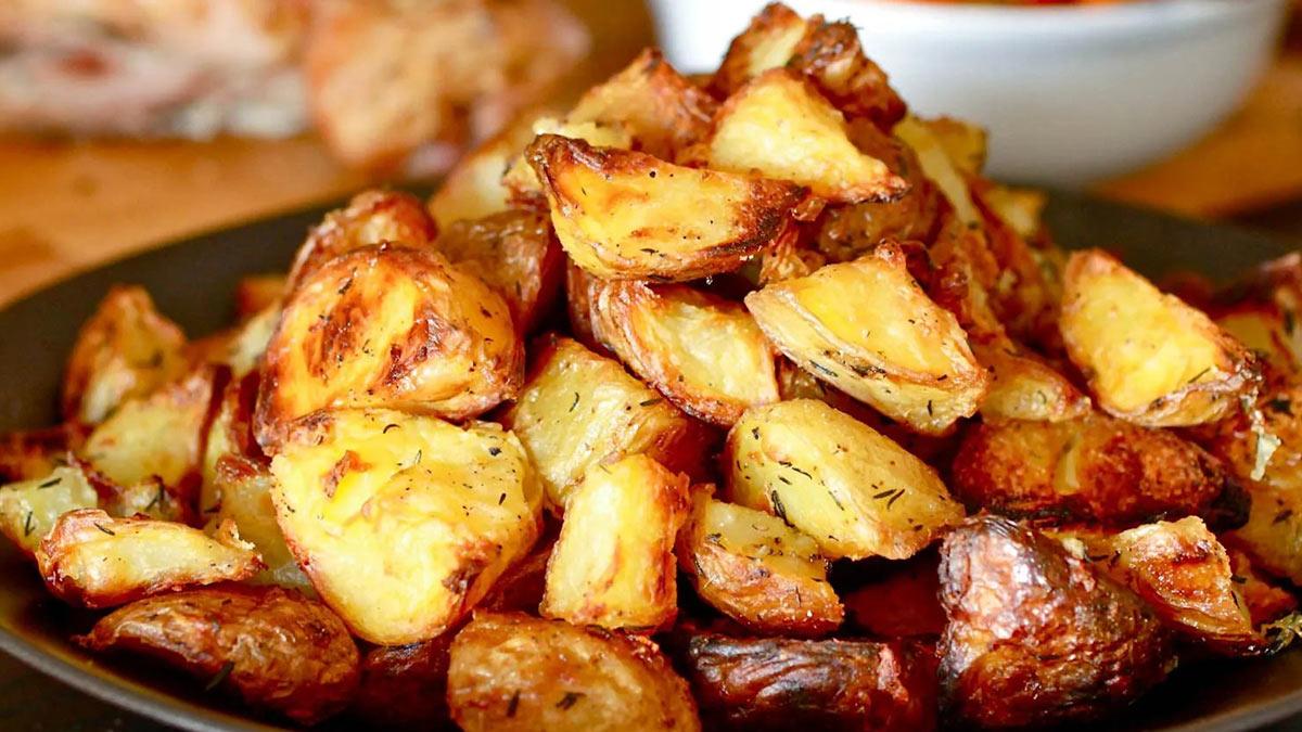 печенный картофель