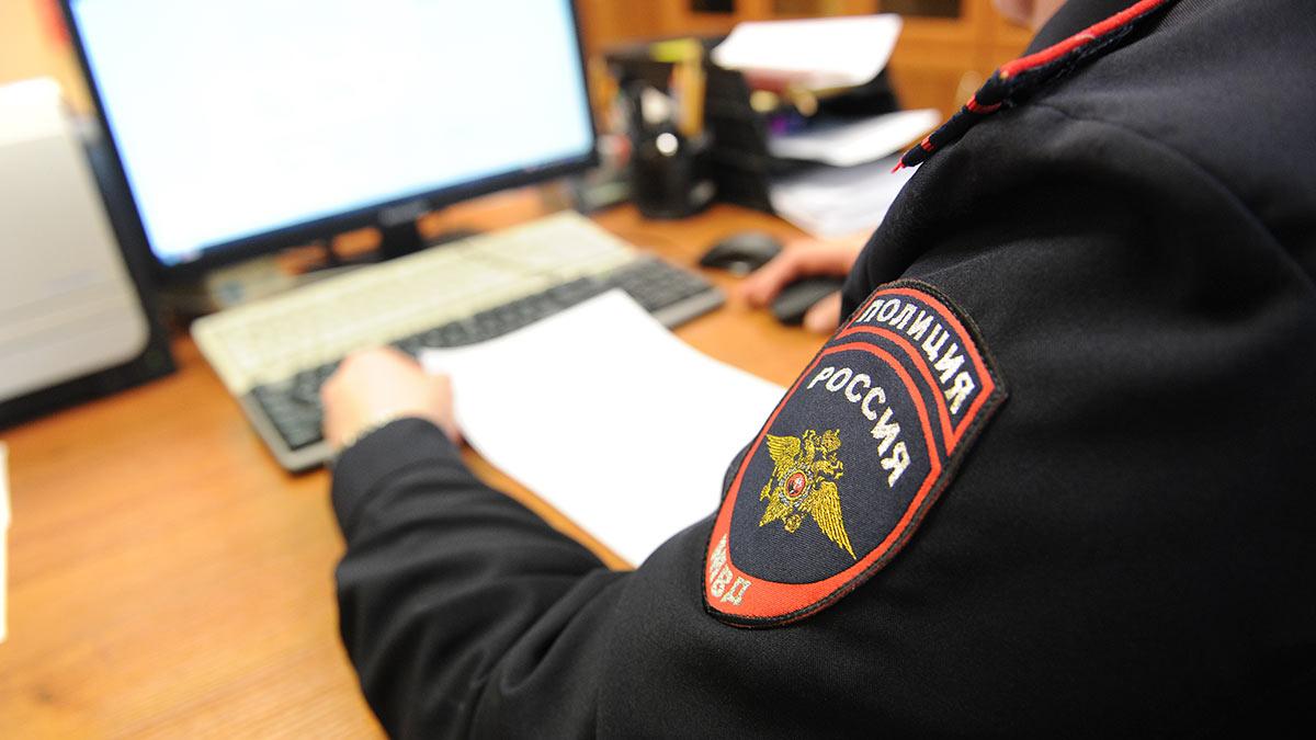 Работа отделения полиции