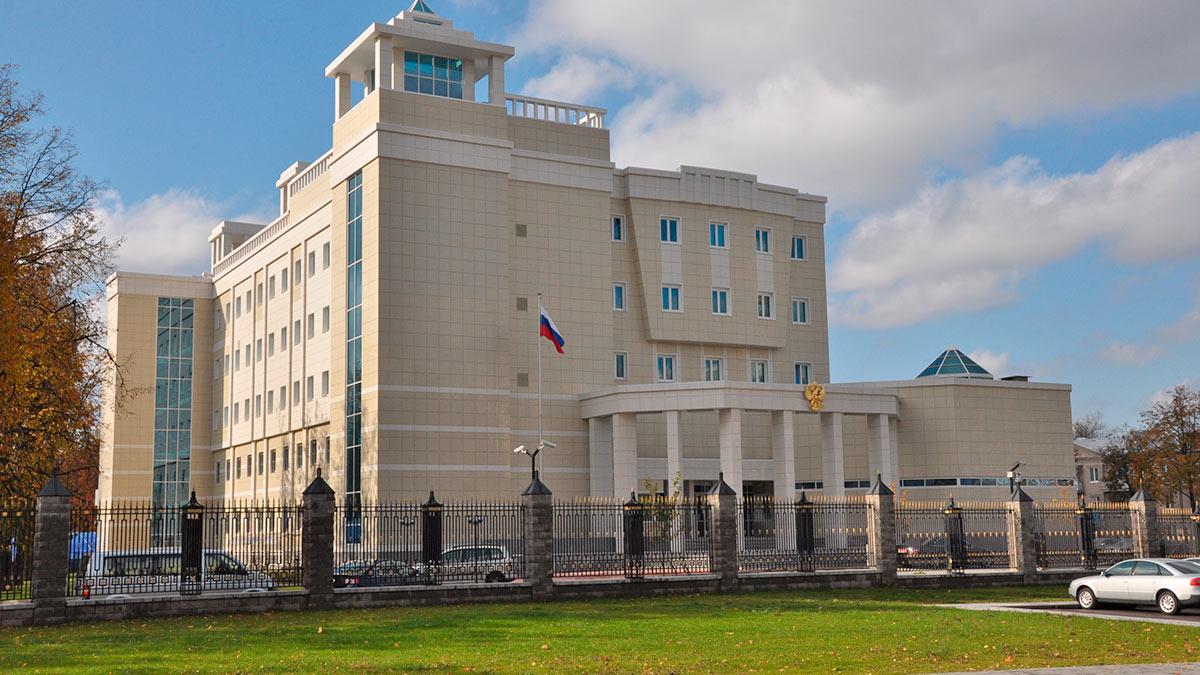посольство РФ в Минске