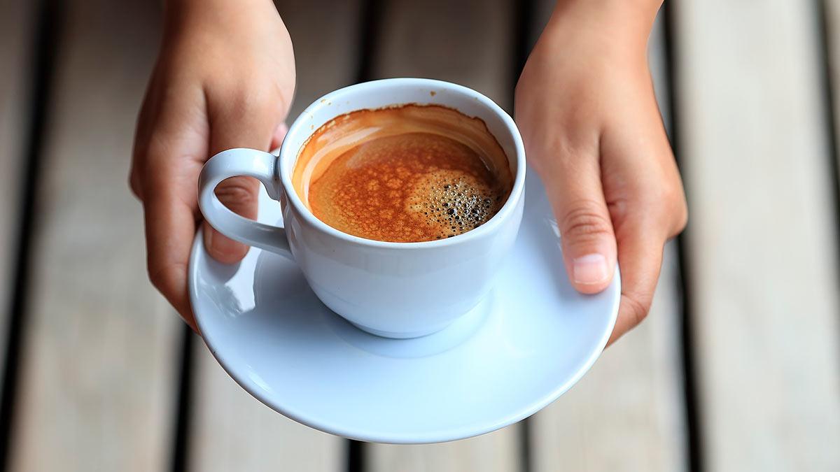 лучшее время для употребления кофе