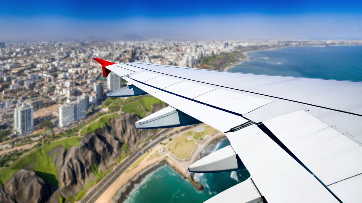 Открытие авиасообщения с Перу