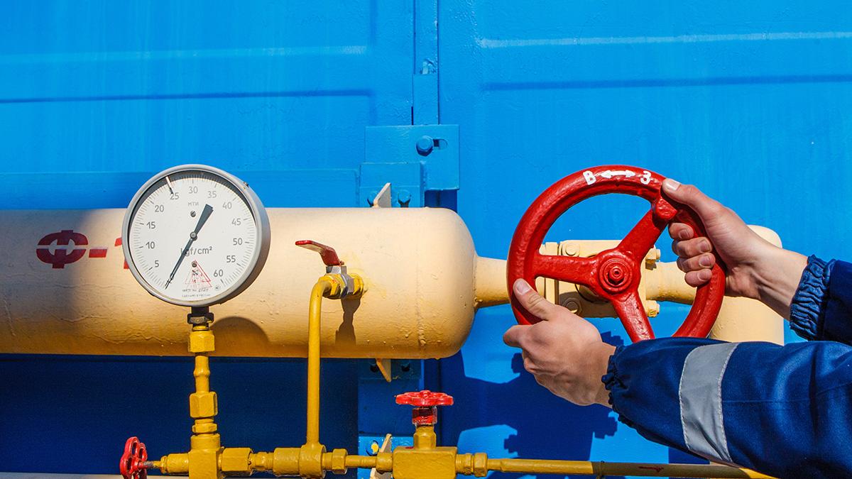 Поставки Российского газа