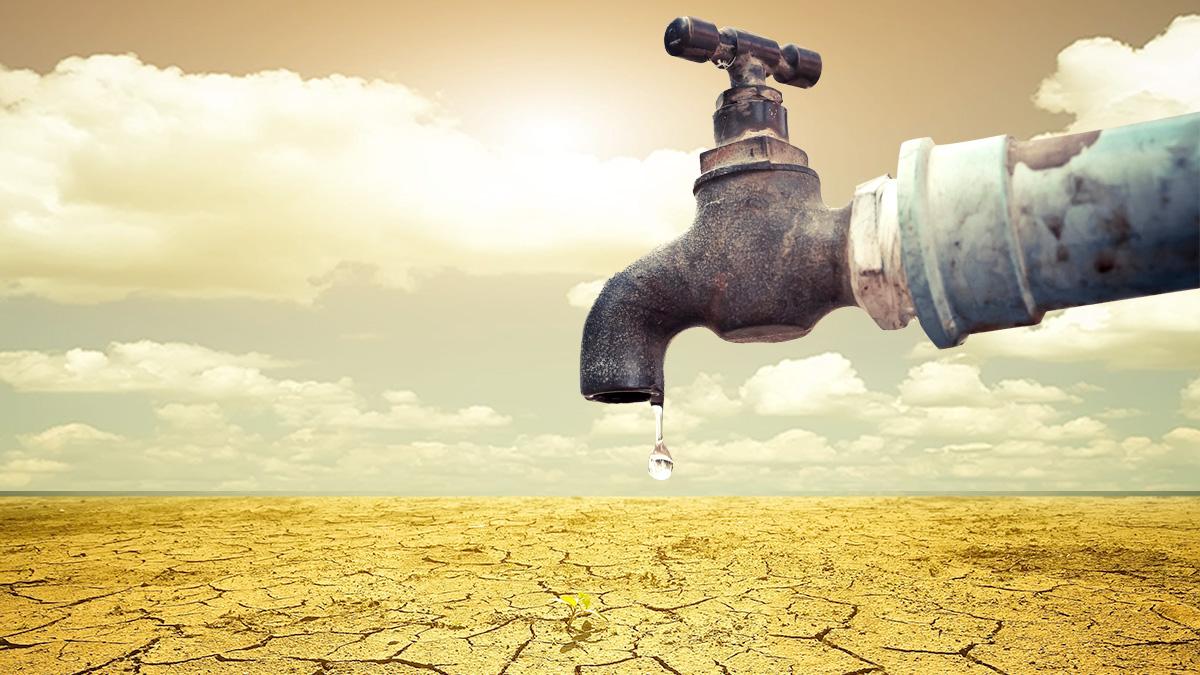 засуха нехватка воды