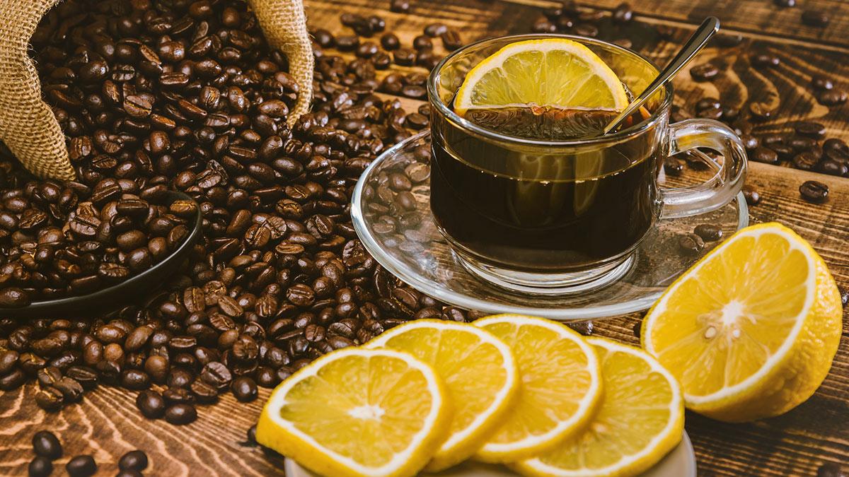 """Кофе """"Романо"""" с лимоном"""