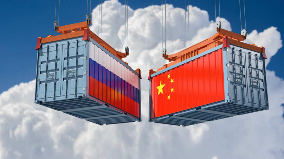 товарооборот между Россией Китаем