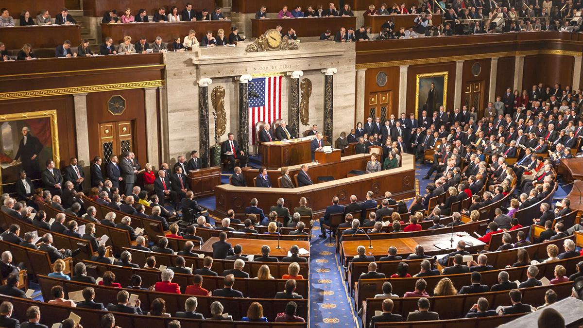 Сенат США заседание