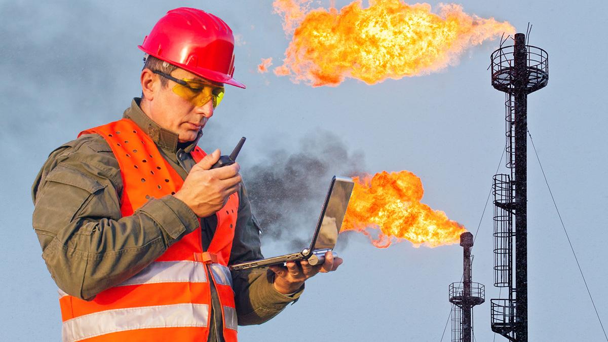 Газ месторождение факел