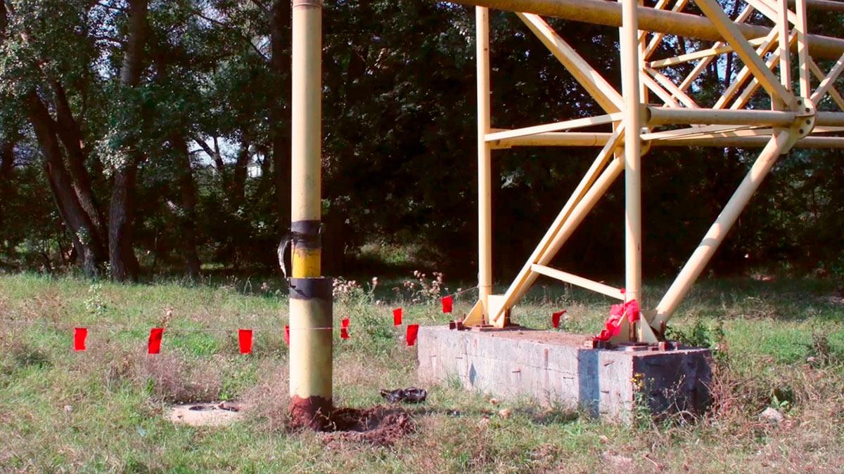 взрыв крымского газопровода