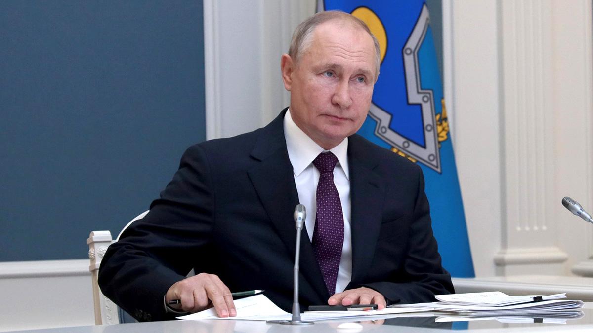 Владимир Путин Кремль заседание доклад
