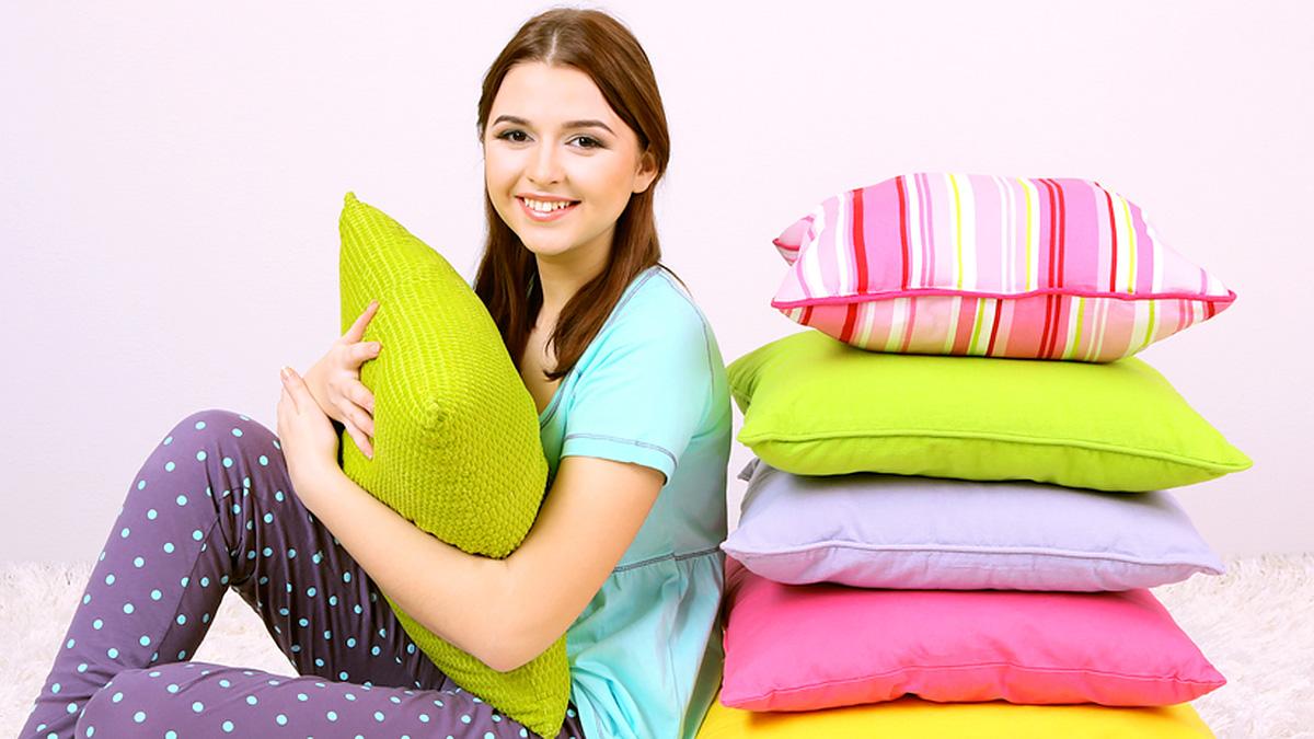 декоративные подушки интерьер