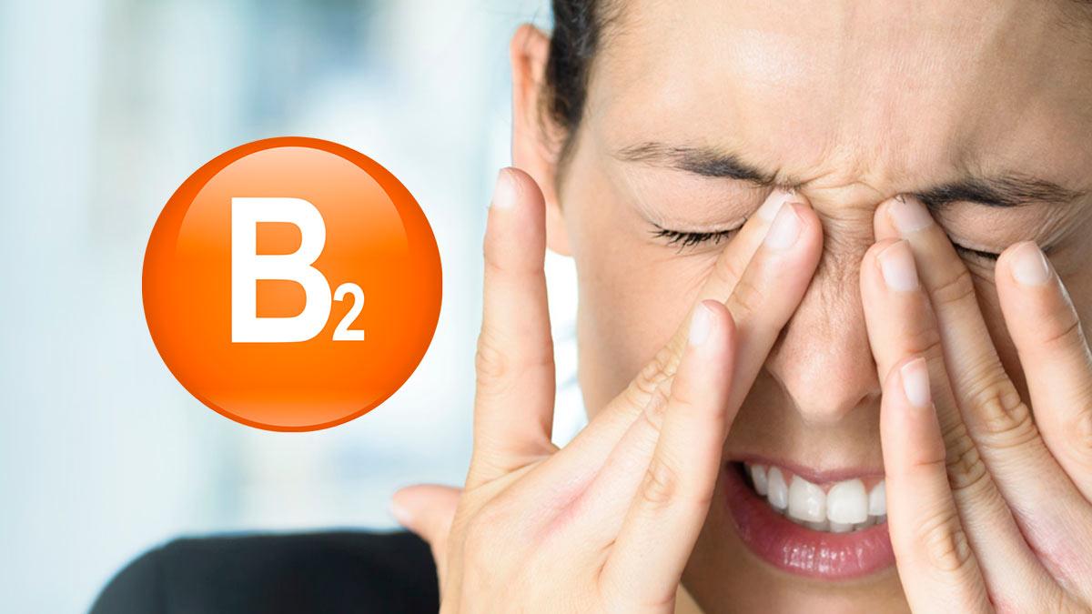 Главные симптомы дефицита витамина B2