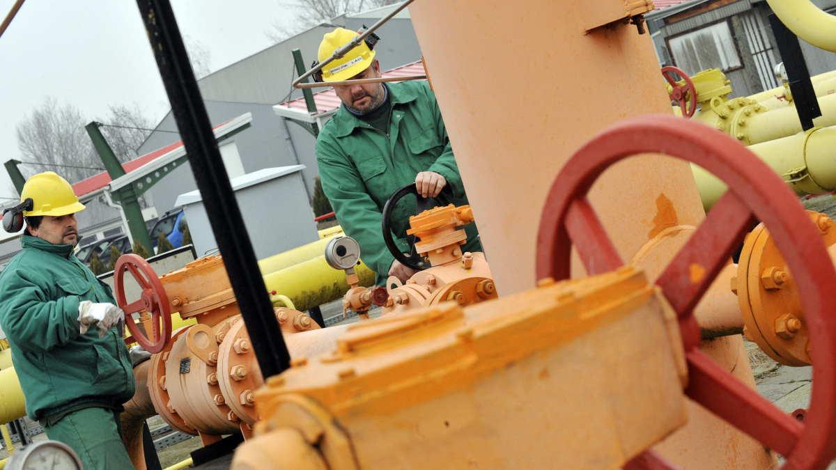 Газопровод в Венгрии