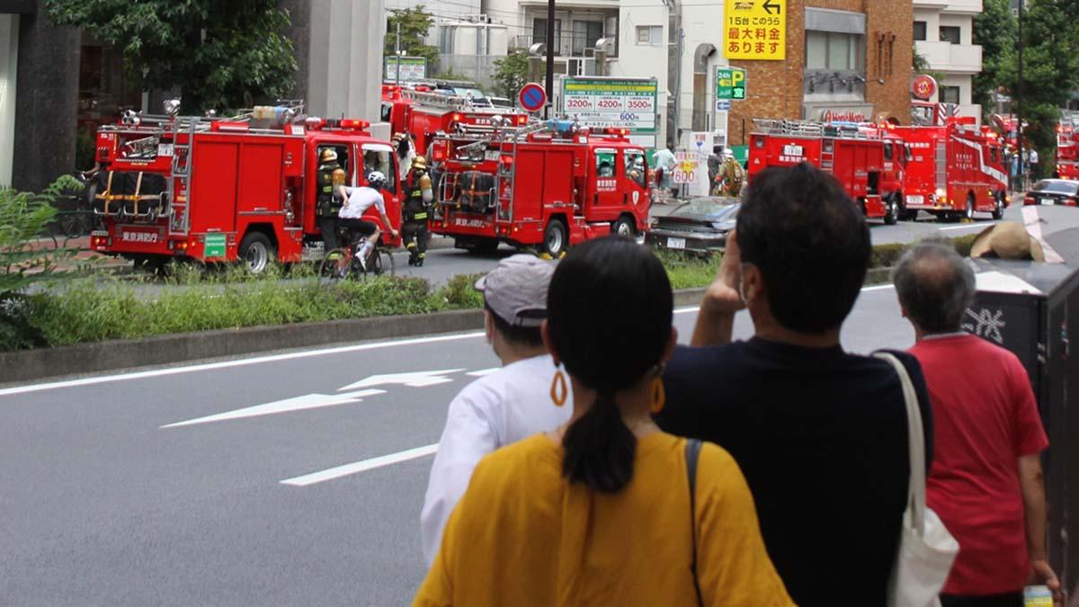 Пожарные Токио