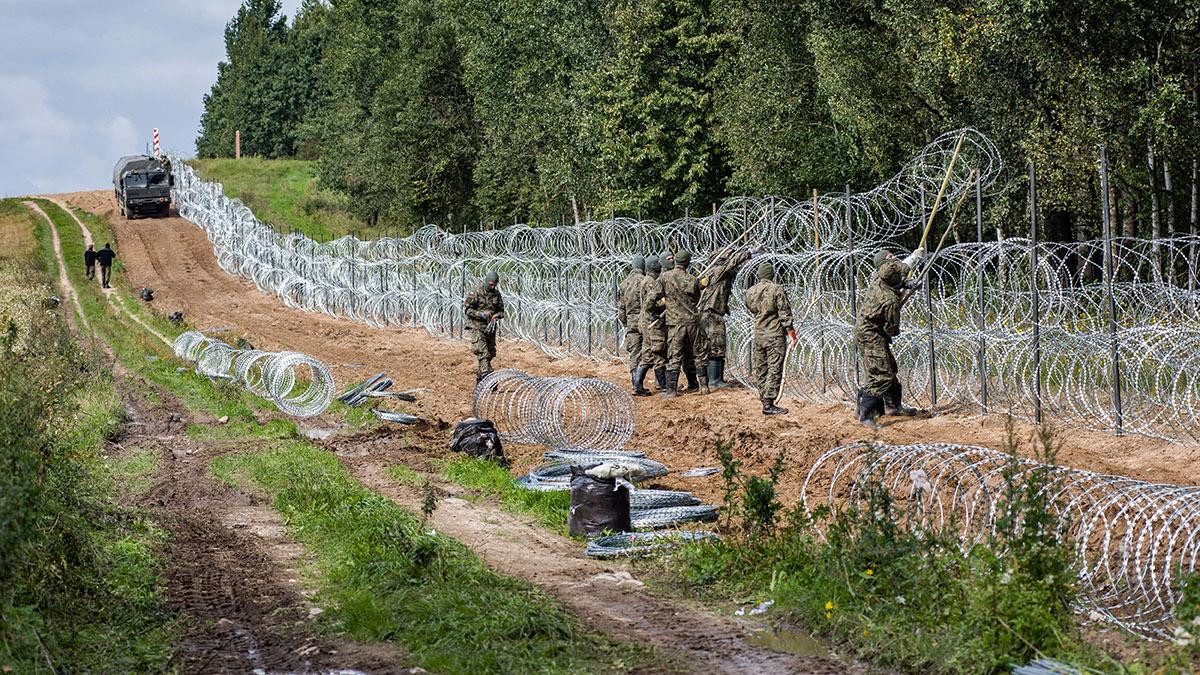 Ситуация на границе Польши и Белоруссии