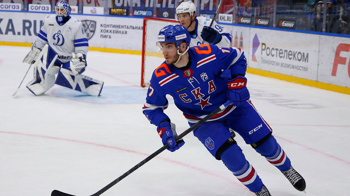 СКА обыграл московское Динамо