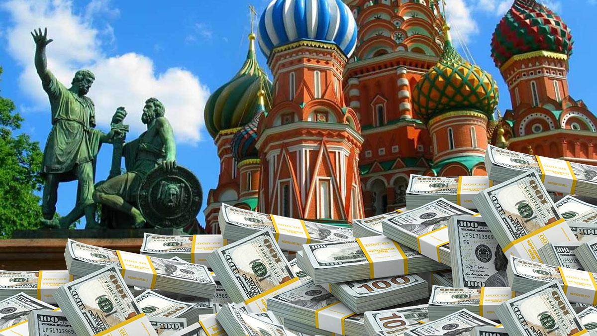 Внешний долг России увеличился на 21,9 миллиарда долларов