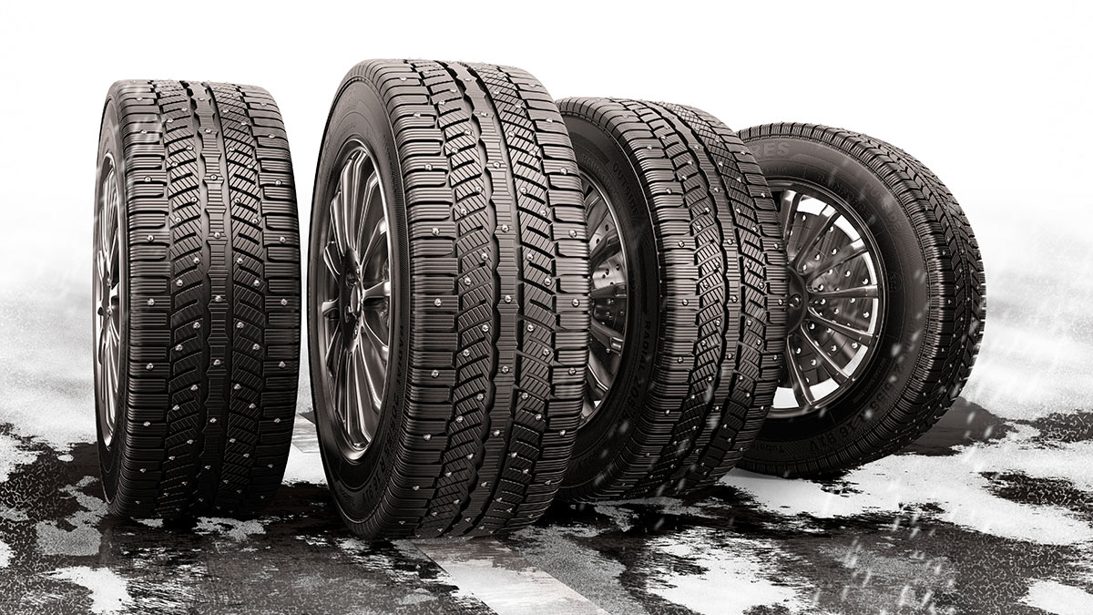 В России подорожали зимние шины