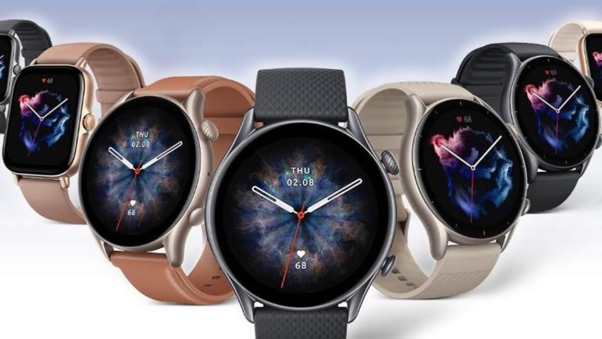 Умные часы Amazfit GTR 3, GTS 3 and GTR 3 Pro