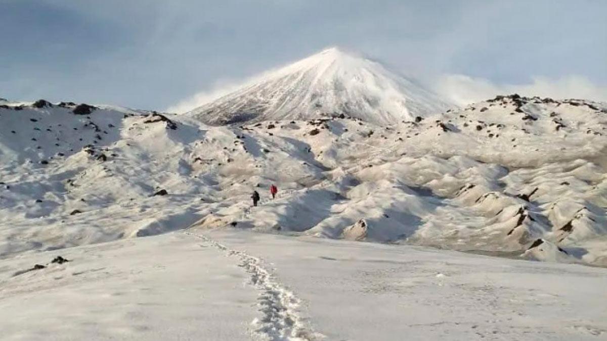 На Ключевской сопке пропал альпинист