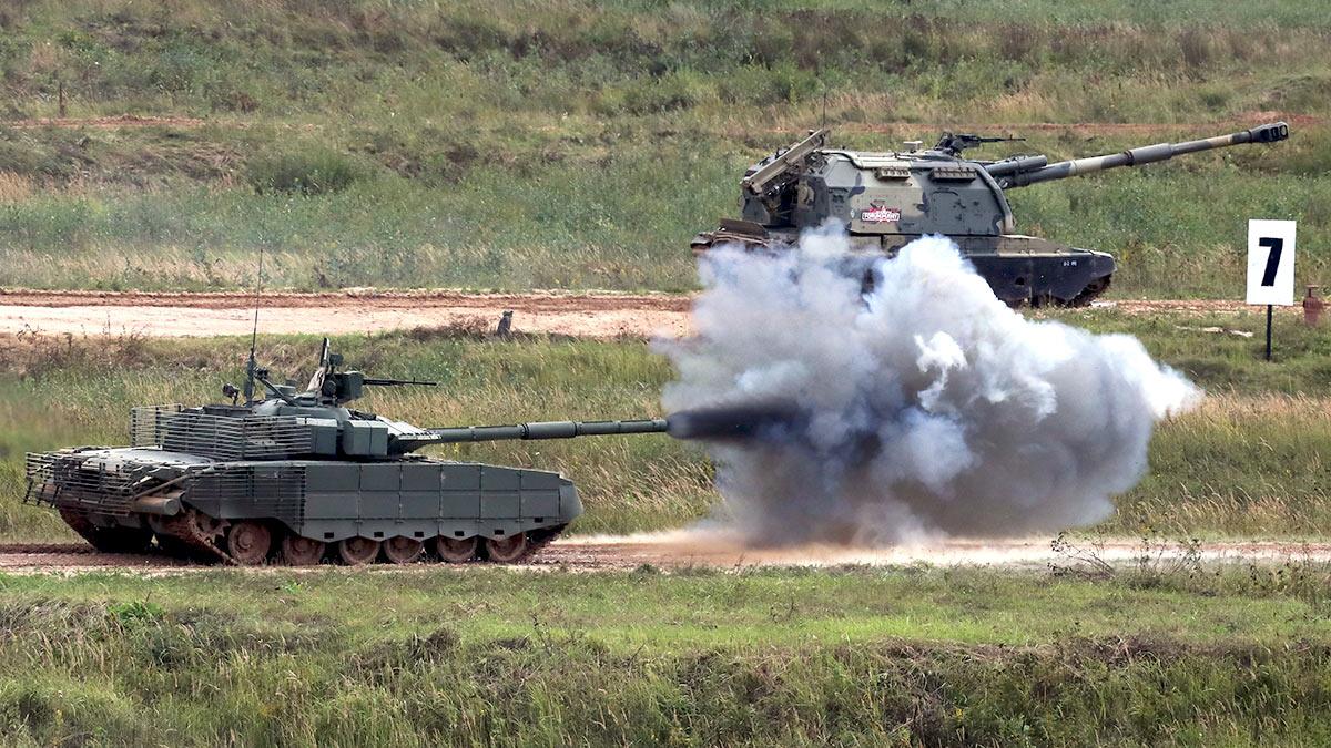Боевой танк Т-80БВМ
