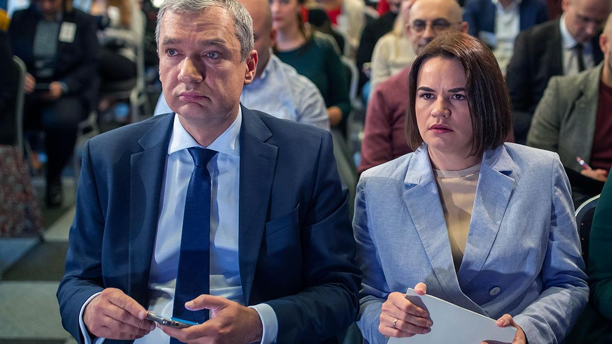 Павел Латушко и Светлана Тихановская
