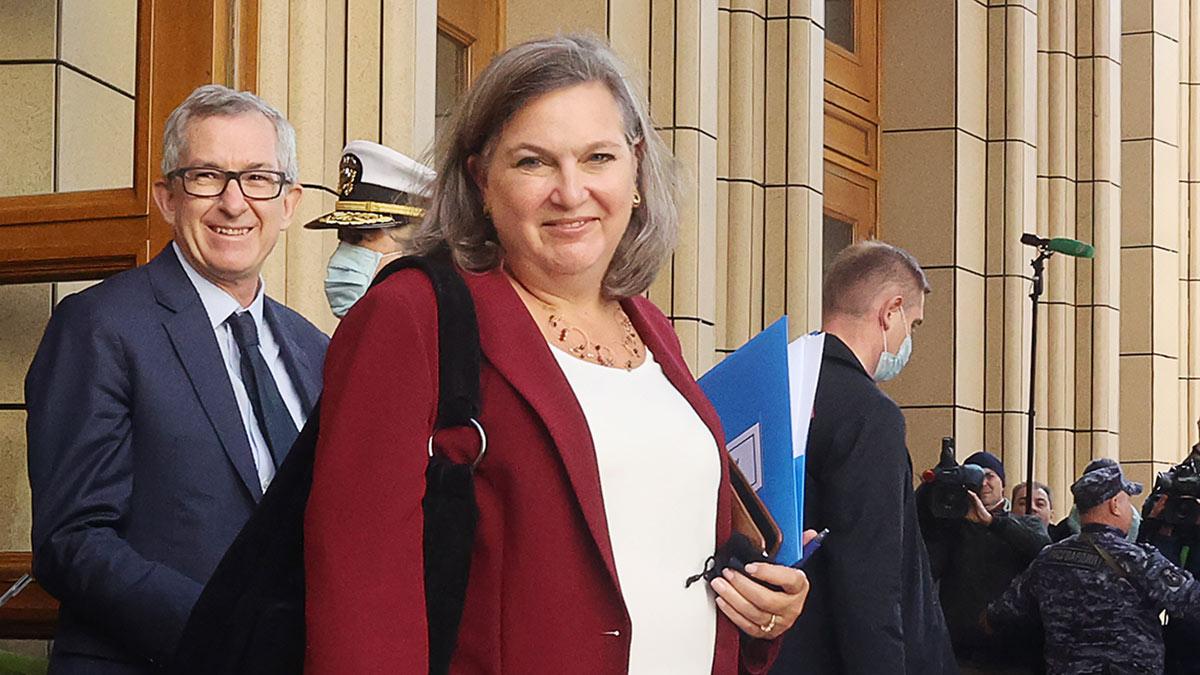 Виктория Нуланд во время визита в Москву