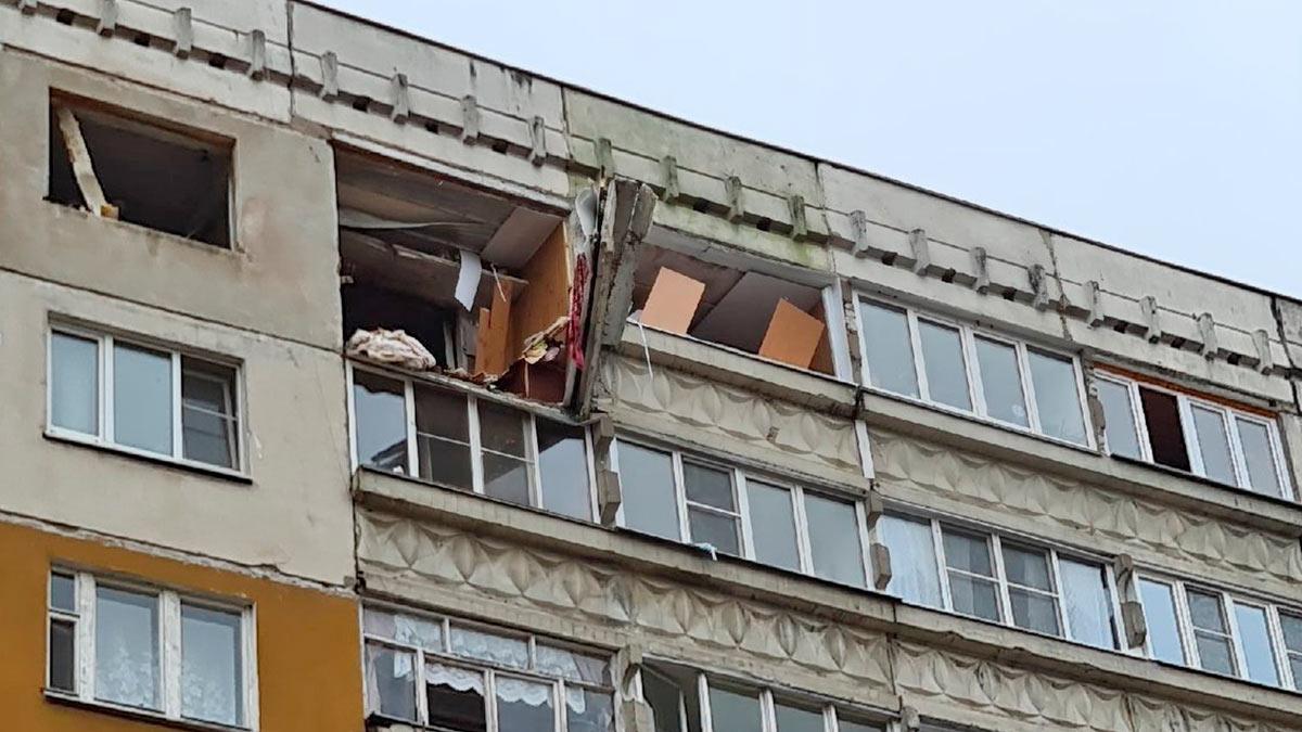 в Нижнем Новгороде произошел взрыв газа