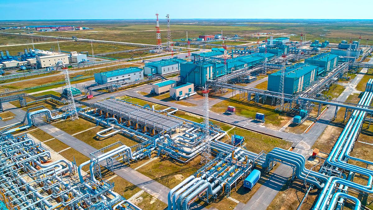 Добыча газа в РФ выросла